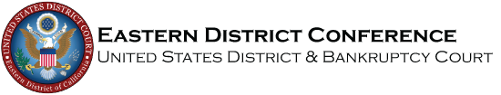 U.S. District Courts Eastern District of CA Logo